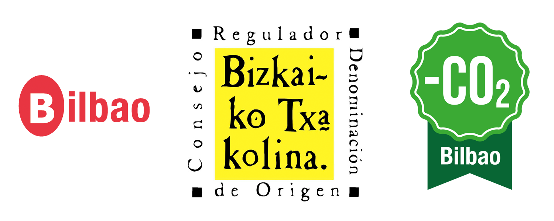 Txakoli Bilbao Munetaberri logos