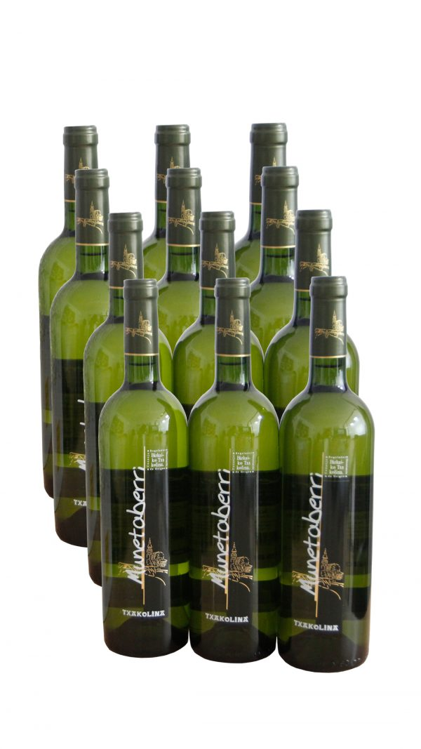 Txakoli Bilbao Munetaberri 12 botellas caja